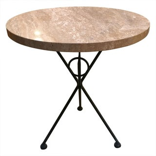Vintage Italian Tripod Table For Sale