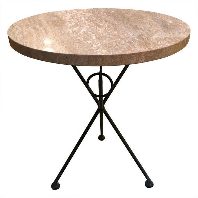 Vintage Italian Tripod Table For Sale