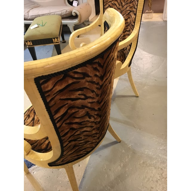 Contemporary Enrique Garcel Bone Armchairs - A Pair For Sale - Image 3 of 8