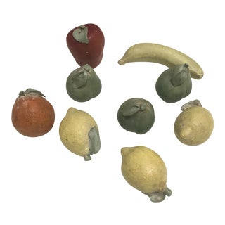Italian Terra Cotta Fruits - Set of 9 For Sale