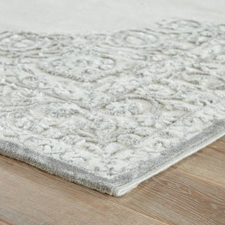 "Jaipur Living Malo Medallion Gray & White Area Rug - 9'6""x13'6"" Preview"