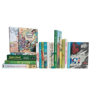 Retro Stories for Children Book Set, (S/20) For Sale