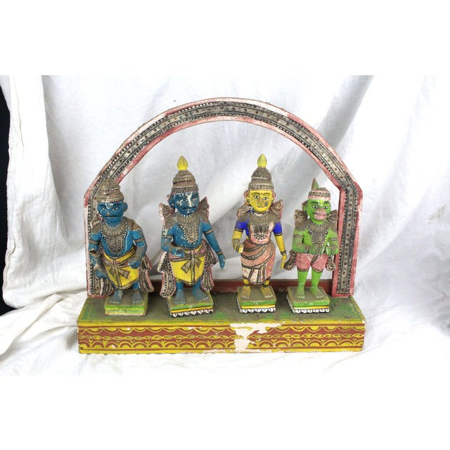 Antique Thai Shrine Decorative Object For Sale In New York - Image 6 of 6