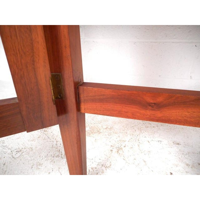 Mid-Century Modern Gate Leg Dining Table For Sale - Image 9 of 9