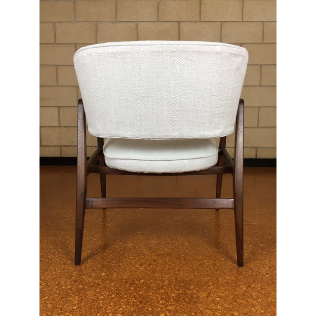 Singer & Sons Mid-Century Modern Gio Ponti for Singer & Son Lounge Chair For Sale - Image 4 of 11