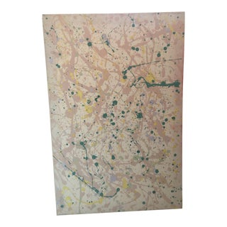 """Pollock"" Style Painting"