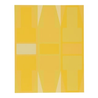T Series (Yellow) Serigraph by Arthur Boden