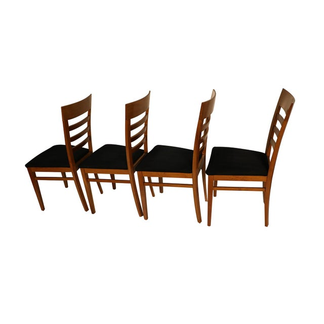 Italian Four A. Sibau Italian Vintage Dining Room Chairs For Sale - Image 3 of 13