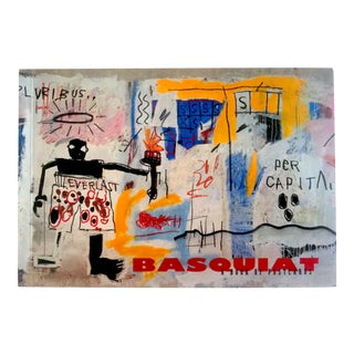 Jean Michel Basquiat Pop Art Oversized Postcard Prints Rare Collector's Book
