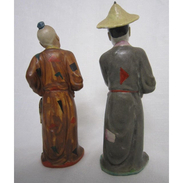 Chinese Figures - A Pair - Image 4 of 5