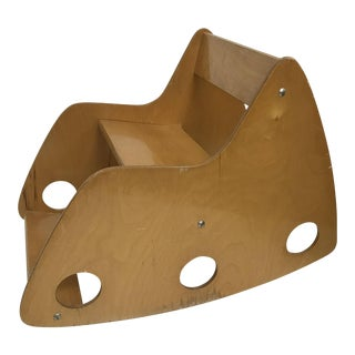 Children's Birch Plywood Rocker For Sale