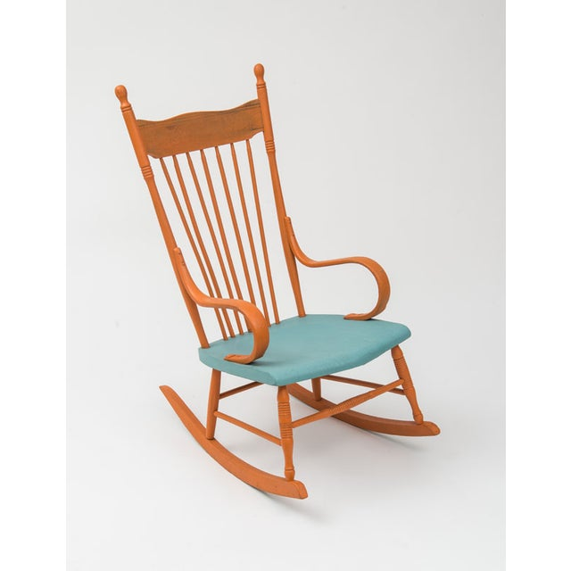Restored Shabby Chic Style Rocking Chair - Image 2 of 4