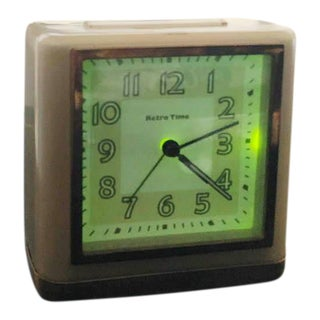 "Vintage Levenger ""Time"" Alarm Clock For Sale"