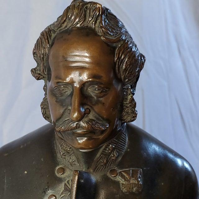 Mid 19th Century Franz Hogler, German Sculptor, Bronze Statue, Signed 1851 For Sale - Image 5 of 10