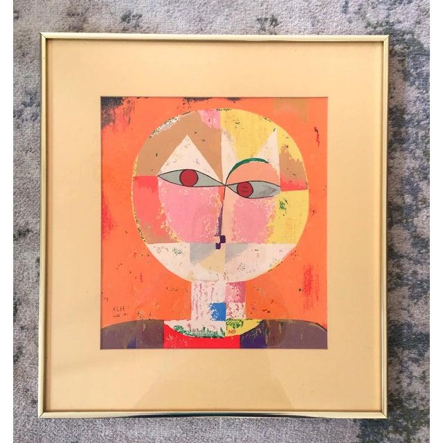 Paul Klee Senecio Head of Man Framed Art Print For Sale - Image 9 of 9