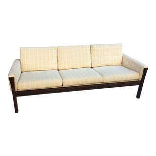 Hans Wegner for Ap Stolen Rosewood Sofa For Sale