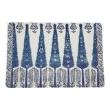 Image of Nicolette Mayer Topkapi Garden Classic 17 Rectangle Pebble Placemats, Set of 4 For Sale