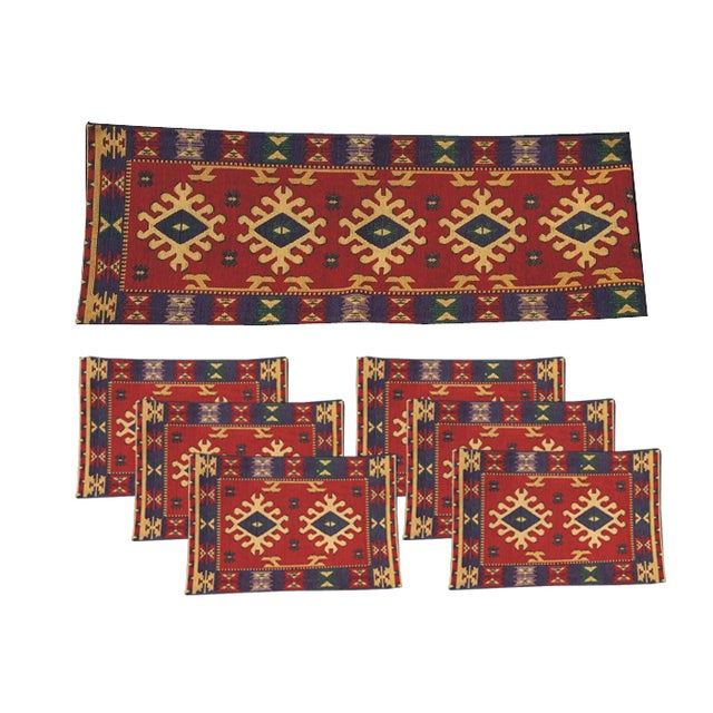 Southwestern Table Runner & Placemat Set - Image 1 of 2