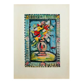 "1950s Georges Rouault, ""Bouquet"" Original Period Lithograph For Sale"