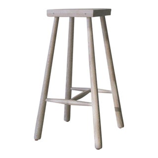 Low Rung Stool by Blackcreek Mercantile Trading & Co. For Sale