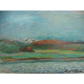 California Landscape Oil Painting by Anders Aldrin Preview