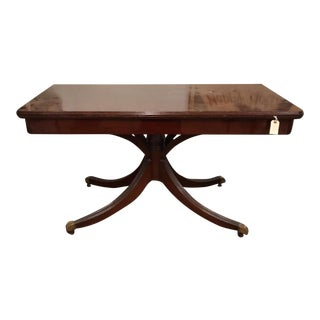 Mahogany Flip Top Console / Dining Table