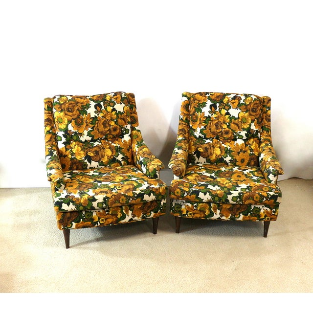 1950s Selig Chairs, Upholstered Seats - A Pair - Image 2 of 6
