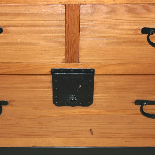 Antique Japanese Document Chest - Image 5 of 7