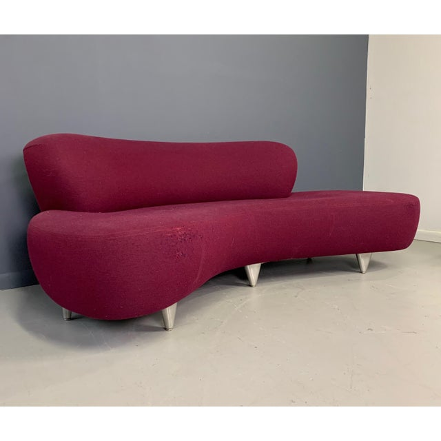 1970s 1970s Vladimir Kagan Sofa for Modernica For Sale - Image 5 of 13