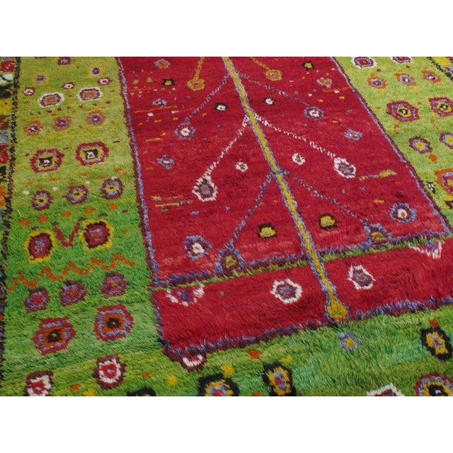 """1980s Festive """"Tree-of-Life"""" Rug For Sale - Image 5 of 9"""