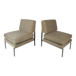 Mid-century Modern Italian Trafilisa Lounge Chairs With Adjustable Seats - a Pair