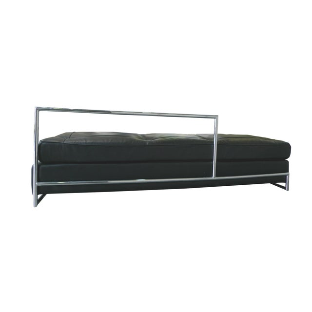 Eileen Gray Chrome and Leather Daybed - Image 5 of 8
