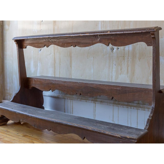 Italian Antique Church Pew For Sale - Image 11 of 12