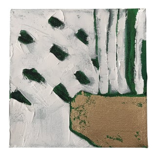 """Abstract """"Emerald City, 5"""" Original Abstract Painting by Alice Miles For Sale"""