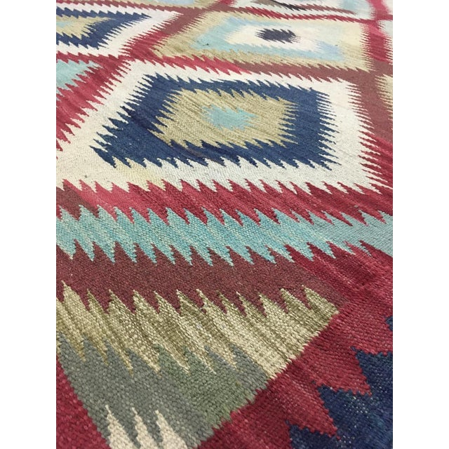 """2020s Hand Knotted Traditional Design Wool Uzbek Rug. 4'8"""" X 6'5"""" For Sale - Image 5 of 7"""