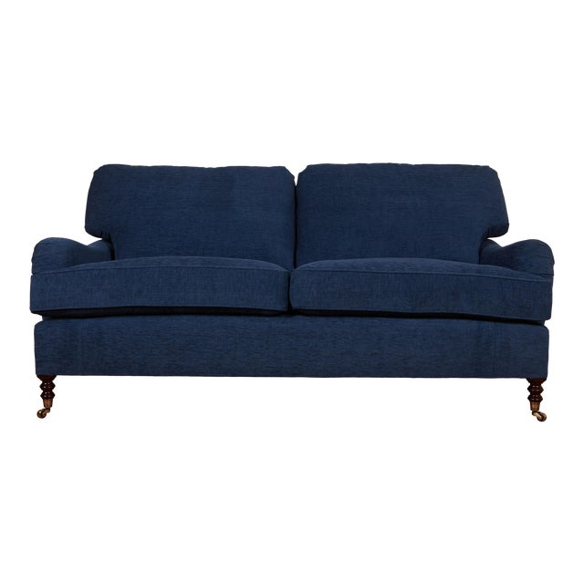 Traditional English Style 2 Seater Sofa For Sale