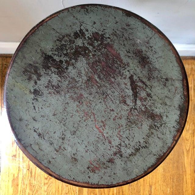 Industrial Vintage Uhl Toledo Stool For Sale - Image 3 of 9