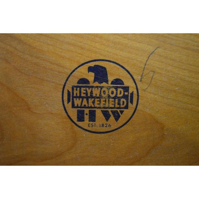 Heywood Wakefield Sculptura Mid Century Modern Maple 6 Drawer Dresser For Sale - Image 10 of 13