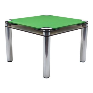 Authentic Poker Table by Joe Cesare Colombo for Zanotta 1968