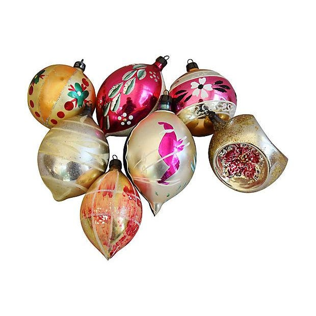 Hand Decorated European Christmas Ornaments w/Box - Set of 12 - Image 6 of 8