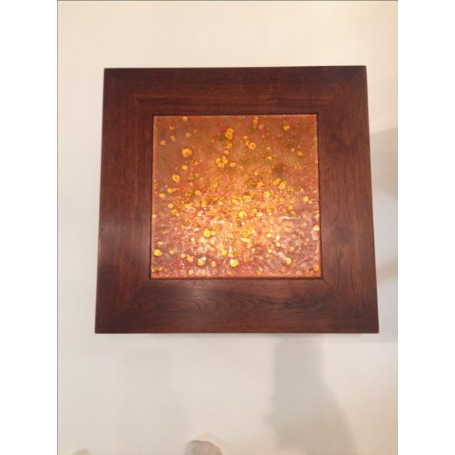 John Keal John Keal for Brown Saltman Tile Top Table For Sale - Image 4 of 6