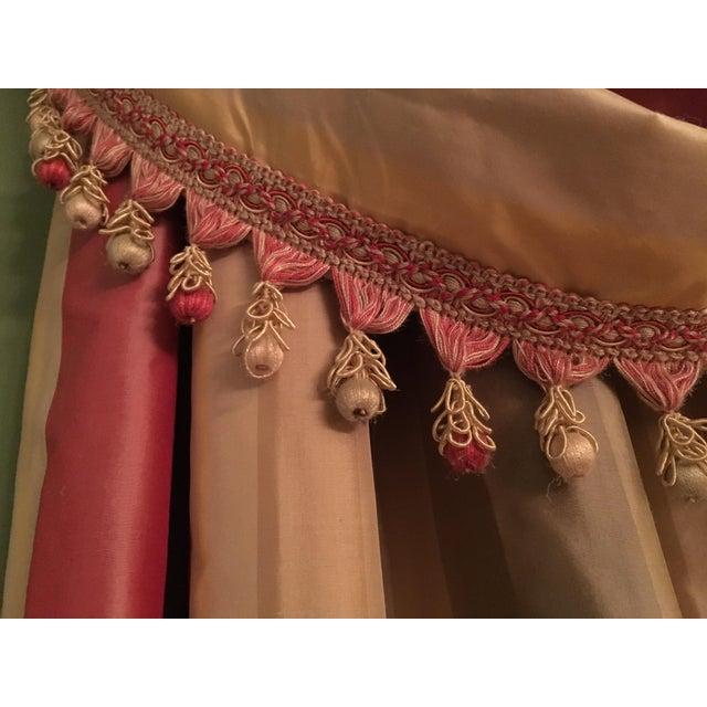 Silk Drapery Panels - 2 Panels - Image 4 of 5