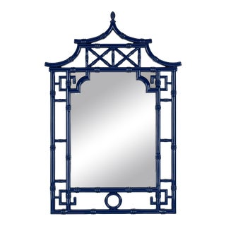 Tina Mirror, Glossy Navy For Sale