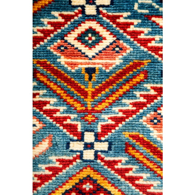 "New Traditional Hand Knotted Area Rug - 4'4"" x 5'10"" - Image 3 of 3"