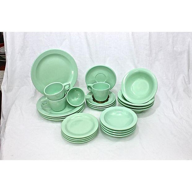 Vintage Boontonware Dinnerware - Set of 4 For Sale - Image 4 of 9