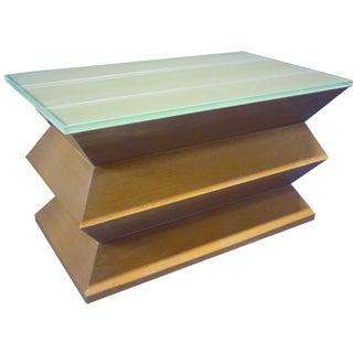"Custom-Made ""Zig-Zag"" Table"