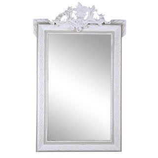 French Late 19th Century Louis XVI Wall Mirror For Sale
