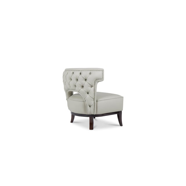 Not Yet Made - Made To Order Kansas Armchair From Covet Paris For Sale - Image 5 of 8