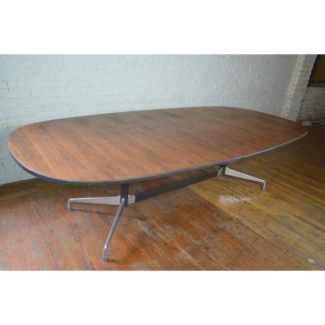 1970s Charles & Ray Eames for Herman Miller Aluminum Group Mid Century Modern Conference Table For Sale - Image 5 of 9