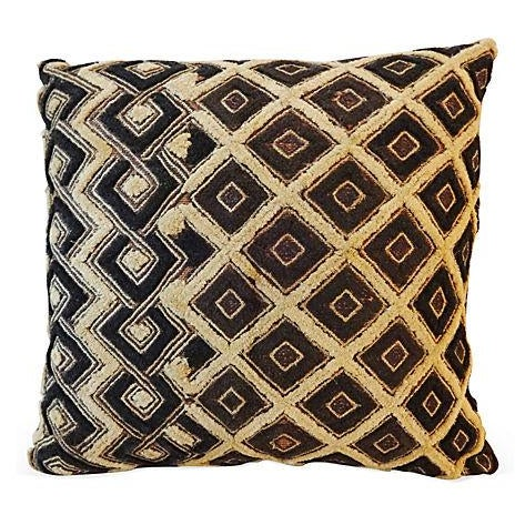 African Kuba Pillow For Sale